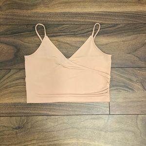 Pinky/nude Crop top